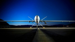 Unmanned Aerial Vehicle Stock Photo