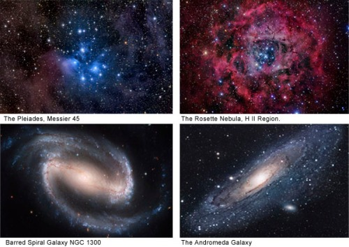 Popular Galaxies & Nebulae available from Stocktrek Images